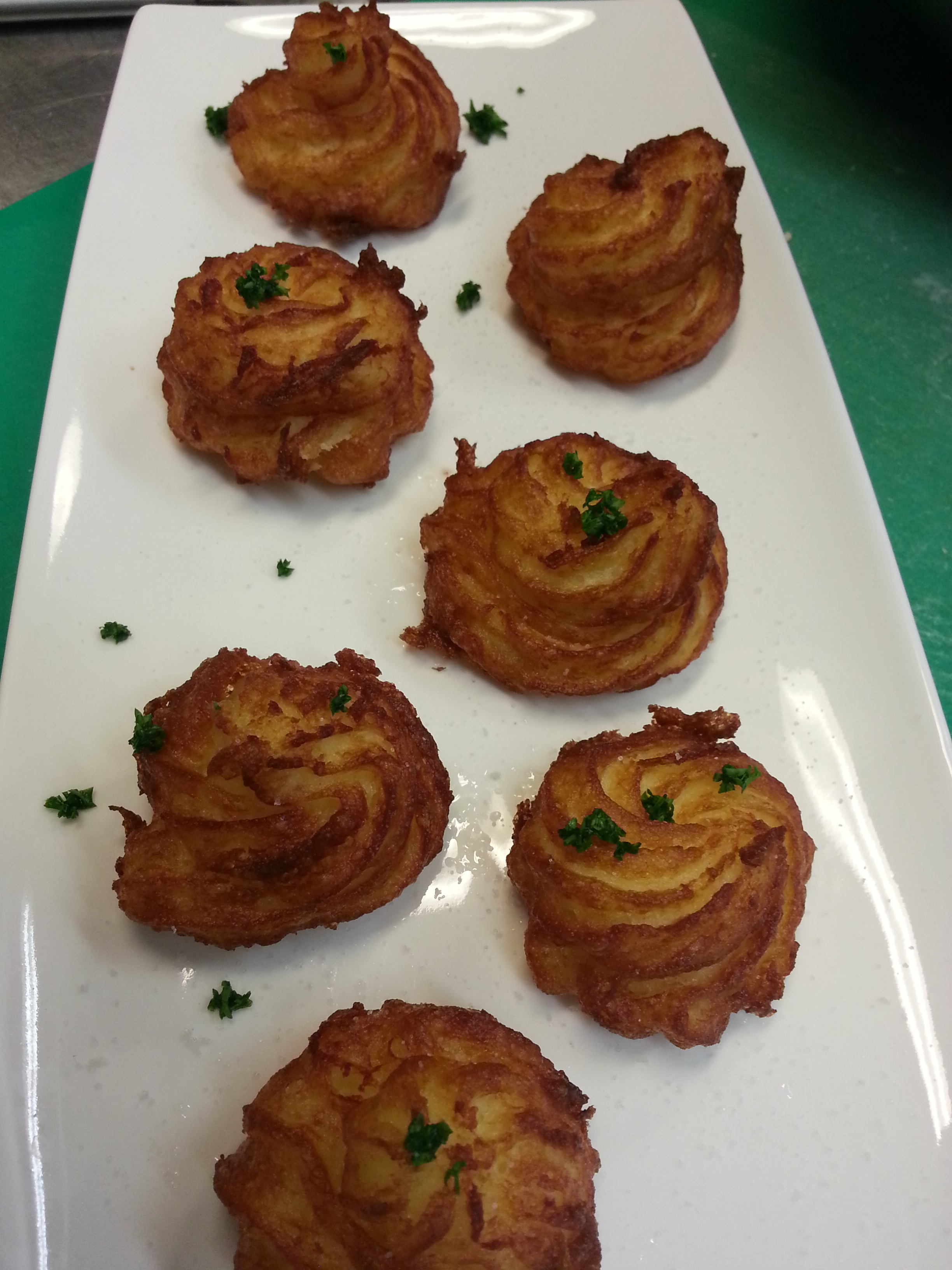 Fried Pommes Dauphine